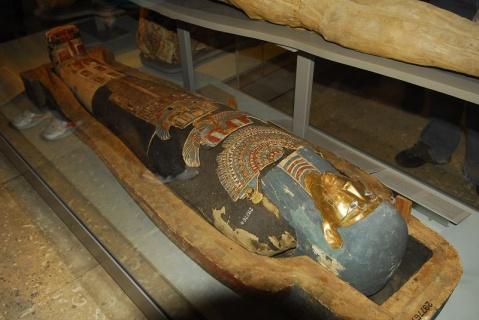 大英博物馆中的埃及文物 - pwezxjg - 凝听静思
