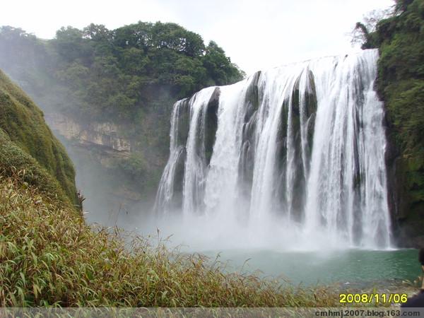 四看黄果树瀑布 - 冲锋在前 - 冲锋在前的博客