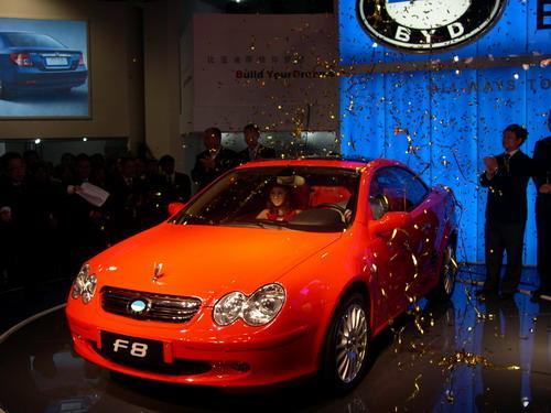 比亚迪轿跑车f8高清图片