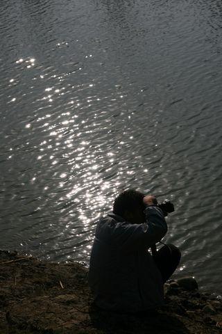 两河外拍 VS 爱在深秋 - 小桥流水 - 转眼之间