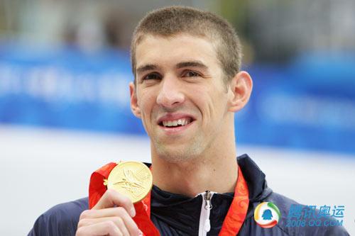 4X200米自由泳接力 菲尔普斯夺奥运第十一金