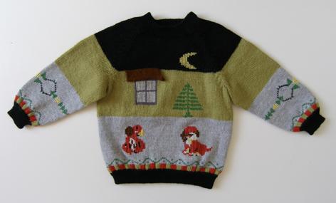 手织小披肩和宝宝毛衣 - 夏荷 - 夏荷的博客