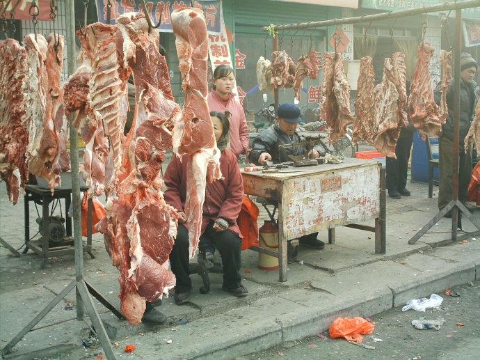"""还有这样卖""""肉""""的(图) - 郭海臣 - 郭海臣—用脚写作"""