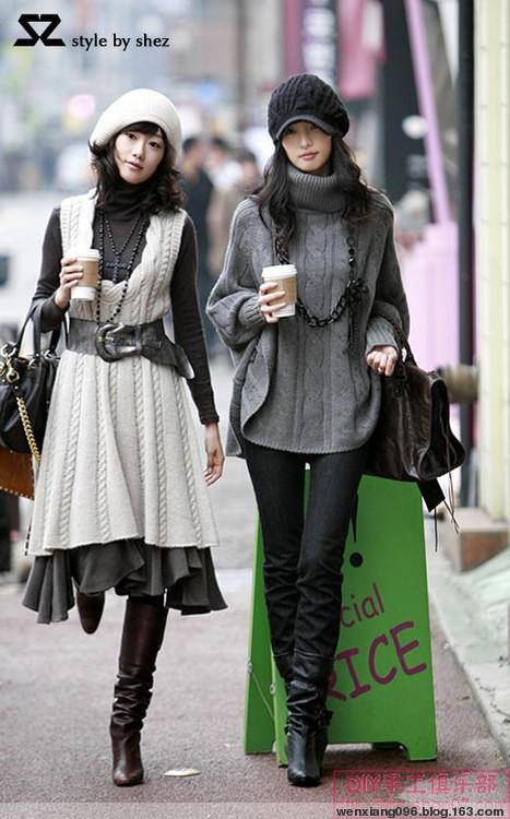 09年2月6日 羊绒背心连衣裙 - wenxiang096 - 闻香的博客