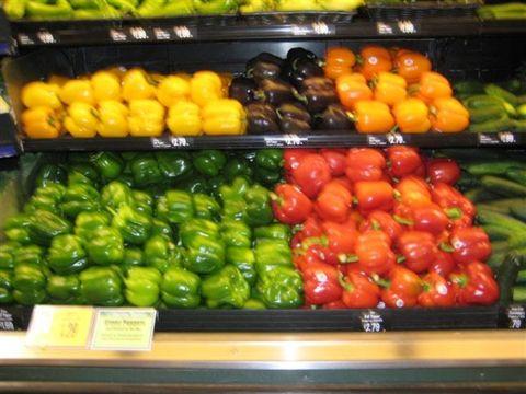 水果蔬菜摆设图
