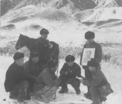 60年代的军营生活