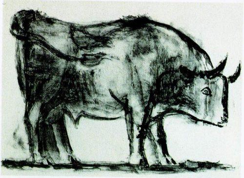 牛年到,看毕加索画牛 tiantia7419 意思林的博客 高清图片