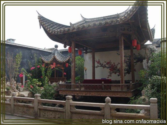 三坊七巷的痕迹(随走随拍图片)——水榭戏台… - 老猫侠 - 老猫侠的博客