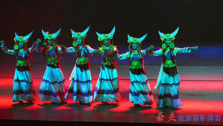 (原摄)《丽水金沙》民族舞蹈剧 之二 - 高山长风 - 亚夫旅游摄影博客