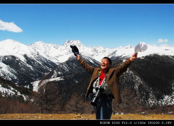 [原创]我是沙漠里走出的摄影人 - 雪山老人 - 雪山老人的博客