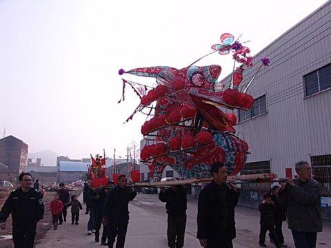 [民俗风情]迎龙灯(一) - 飞飞 - 蝴蝶飞飞