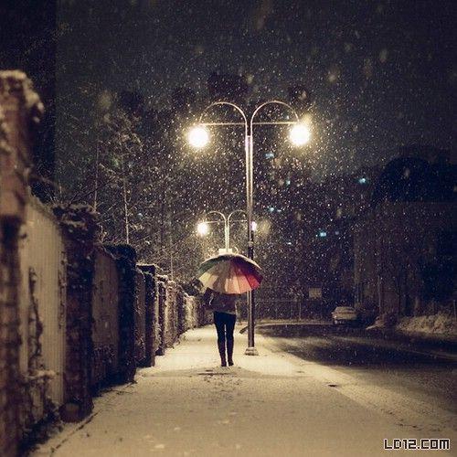 [原创散文]雪夜 - 红藕飘香 - 红藕飘香