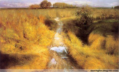 田园抒情诗:周瑞文江南风景油画的意境 - 范达明 - 范达明的博客