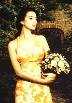 美丽女人 (原创) - 梦景红花 - 梦景红花的博客