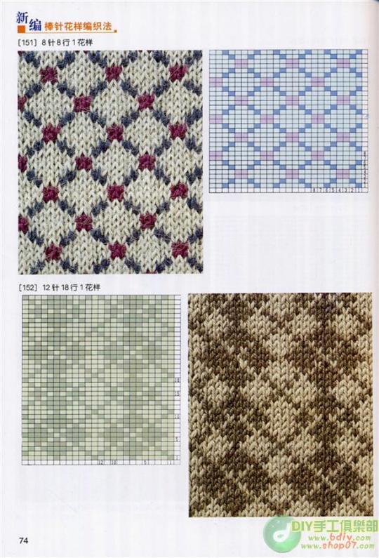 毛衣图案集合 - 芙蓉 - 芙蓉的博客