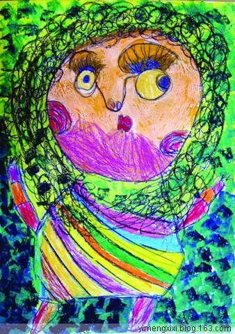 世界获奖儿童画点评(转) - 伯乐少儿美术活动基地 -