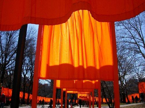 "the gates"" 纽约中央公园千重门 - null - 娜斯"