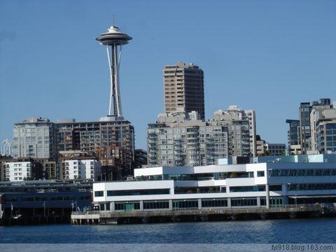 到西雅图观光(13):远望标志性建筑群 - 阳光月光 - 阳光月光