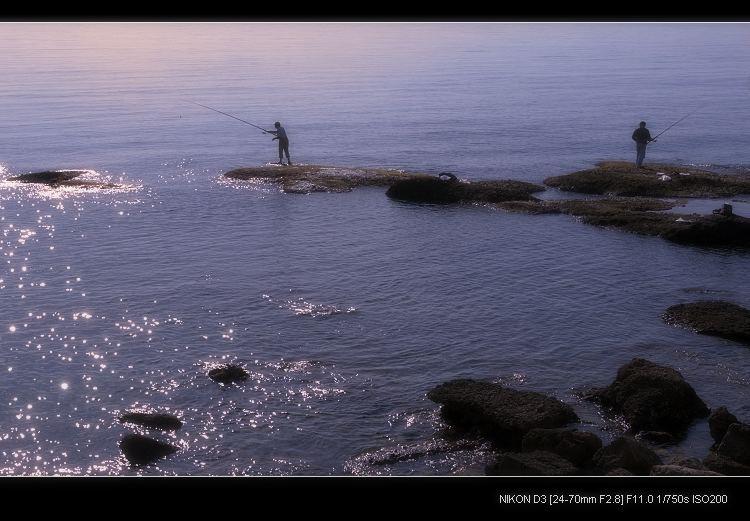 黄昏的海边 - 西樱 - 走马观景
