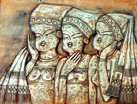 木雕作品(作者说三、苏四宝) - 阿卡然说三 - 阿卡然说三