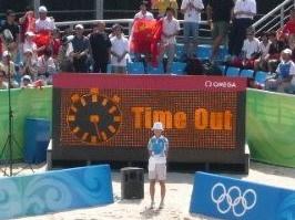 奥运赛场上天天都有免费的TimeOut广告 - 子非鱼 - 子非鱼