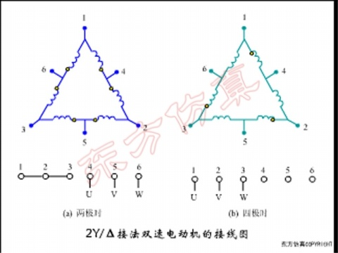 双速电动机接线图