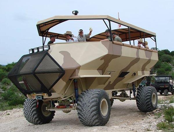 丛林掠夺者-看国外的强悍改装车[图] - 听雪 - 听雪。。。的声音