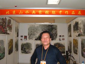 张际才先生参加青岛艺博会作品受到行家青睐 - 张际才 - 张际才的艺术空间