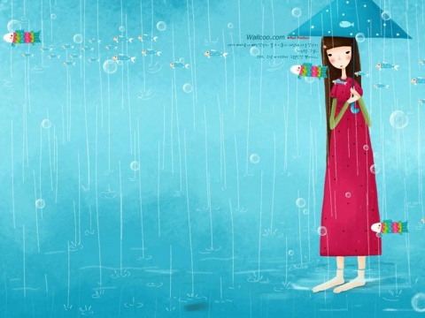 韩国插画名家系列 - echi 作品壁纸 - 美丽心情 - 美丽心情
