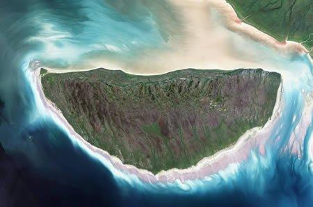 组图:20张世界各地最壮观的卫星地球图片 - 秋实 - 秋实-环保