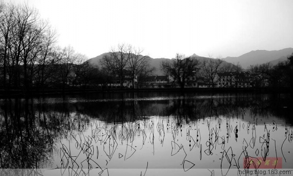 夕阳中的画里之乡(PIC Original) - 千淘万漉 - 千淘万漉 de 花果山
