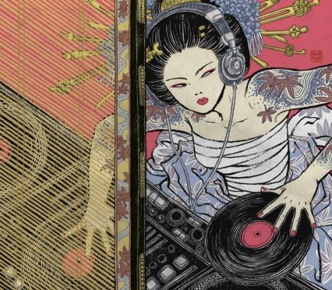 日本设计师YUKO SHIMIZU - 兔爷 - 兔爷的画片架子