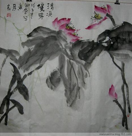 2008岁尾花鸟画小品2(原创) - 云中老马 - 云中老马