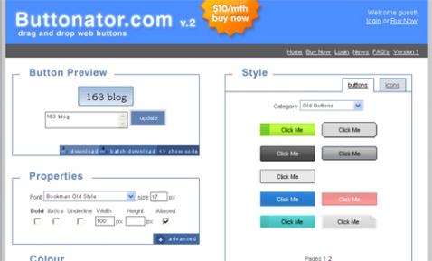 Buttonator:简单的按钮制作 - 令冲冲 - 飞越梦想