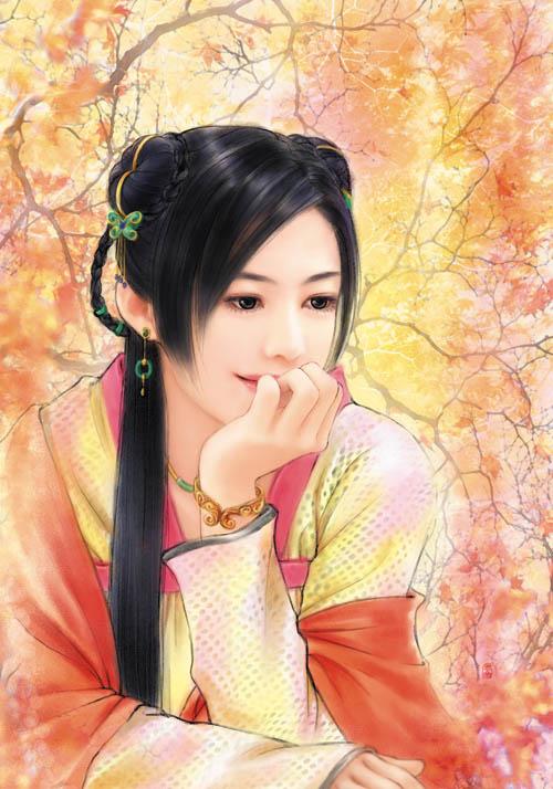 图:中国历代才女鉴赏(组图)