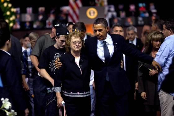 美国总统悼念死亡矿工的讲话 - 秋水伊人 - 秋水伊人