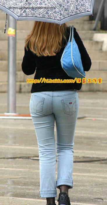 【美臀】牛仔裤美女图片