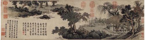 明沈周-《庐山高图》等三幅 - 随风而至 - 读书与人生——众妙之门