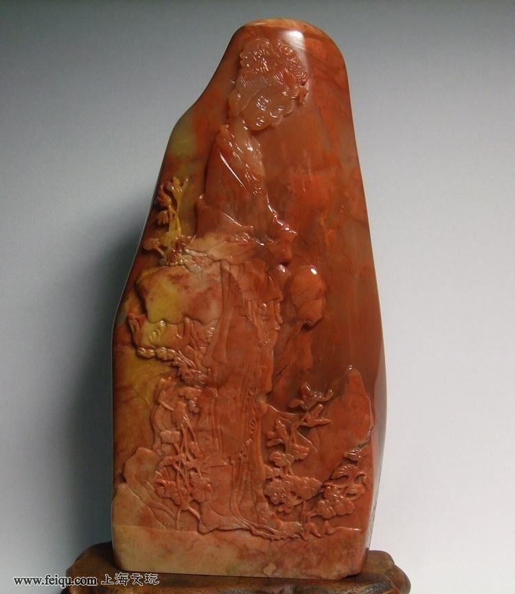 巴林石雕 金陵十二钗 - 香儿 - xianger