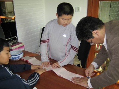 我和刘仁铁的诗联故事之四 - 后皇嘉树 - 后皇嘉树
