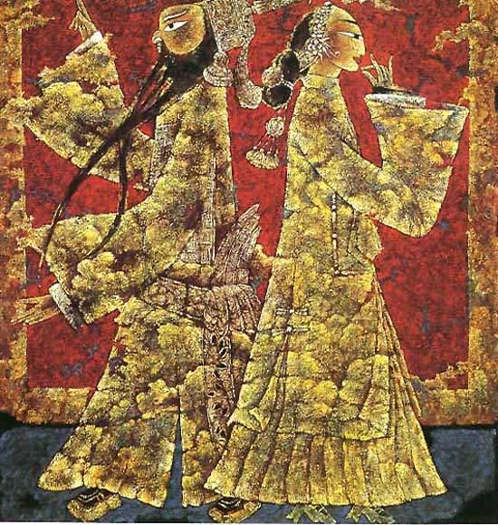 引用 漆画的制作过程和技法 - sunlichen666 - 星辰大帝