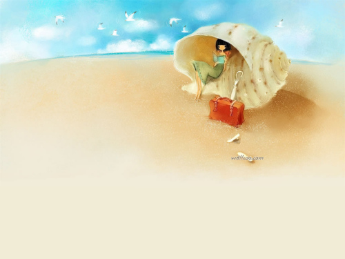 寄居蟹的寂寞爱情 - 心桥望月 - 兰馨坊