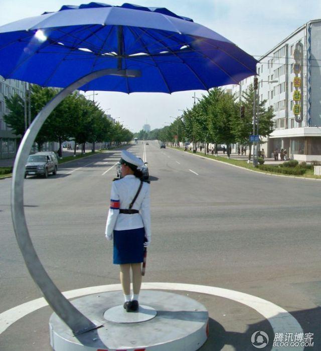 朝鲜最美女交警 逍遥客的日志