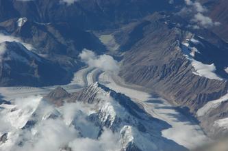 西藏神秘冰川