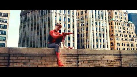 好莱坞经典科幻动作片鉴赏之《蜘蛛侠》(剧照   好莱坞经典...