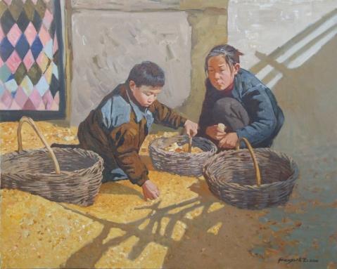 俄画家季马的新作品《陕北》的魅力与气魄 - 夫一 - 夫一1213@的博客
