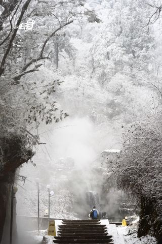 海螺沟之旅(二)-向雪山前进 - 小桥流水 - 转眼之间