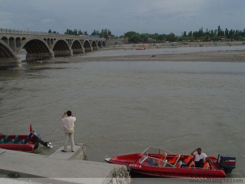 伊犁河--7月26日那那提草原行之六 - 阿凡提 - 阿凡提的新疆生活