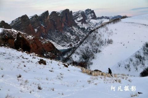 塔西河冬韵 地震中的彩云 - 阿凡提 - 阿凡提的新疆生活