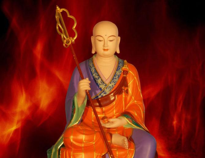 龙天欢庆 地狱门开:恭逢地藏菩萨圣诞日 - 春兰之馨香 - 香光庄严卍念佛三昧
